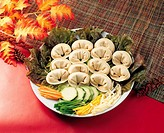 Steamed Dumplings,Korean Food