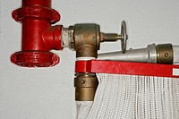 View of a section of a fire extinguisher (thumbnail)