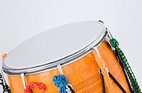 Close-up of a drum