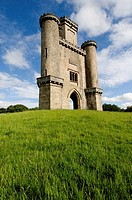 Paxton's Tower Victorian folly near Llanarthne, Carmarthenshire, Wales UK , June 2007,  built by the man who designed the Crystal Palace in London