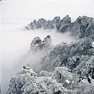 Sea of clouds and peaks, Yellow Mountains, Anhwei