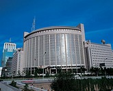 the building of the Chinese Foreign Ministry