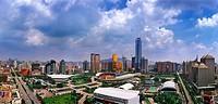 New view of Tianhe, Guangzhou