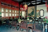 Jingmiao Hall in Zhanyuan Garden, Nanjing