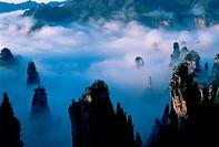 Zhangjiajie in Wulingyuan,Hu´nan