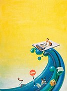 Illustration, Business