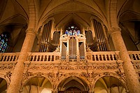 Organ gallery. Notre Dame Cathedral. Luxembourg