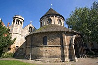 Church of the Holy Sepulchre, Round Church Cambridge, Cambridgeshire, England  Built 1130, since restored