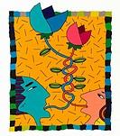 Illustration, Couple