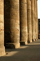 Details of the colonnade of Amenhotep III