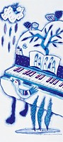 Illustration,Piano