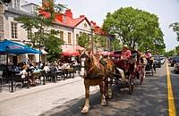 Grande Allee, Quebec City, Quebec, Canada