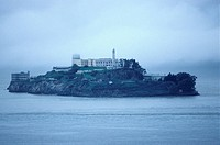 USA, California, San Francisco _ Prison on an Alcatraz island