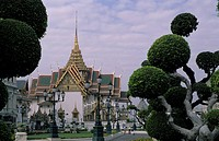Dusit audience hall in Grand Palace at Bangkok, Thailand