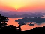 Mt  Mireuksan,Gyeongnam,Korea
