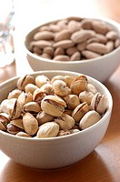 Pistachios and almonds (thumbnail)