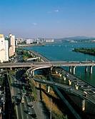 Seogangdaegyo Bridge,Hangang River,Seoul,Korea