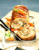 Belly of veal stuffed with Corsican ham (thumbnail)