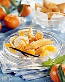 Fritters and candied clementines (thumbnail)
