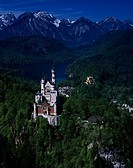 Schloss Neuschwanstein Fussen Germany
