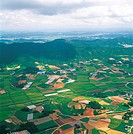 Aerial View Of Rural Area,Korea