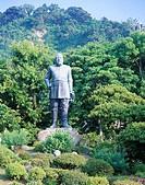 bronze statue, Saigo Takamori, Kagoshimashi, Kagoshima, Japan