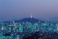 Seoul Tower,Mt. Namsan,Jung_gu,Seoul,Korea