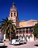 Santa Maria church, La Ronda, Costa del Sol, Spain, Church, March