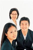 Businessman And Businesswoman,Korean