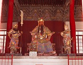 Guanyu statue, Guanlin, Luoyang, Henan Province, China