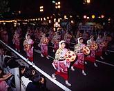 Hanagasa festival, Yamagata, Japan