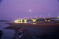 Chojidaegyo Bridge,Incheon,Korea