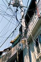 Telephone Pole,Haebang Chon,Hu_am_Dong,Yongsan,Seoul,Korea