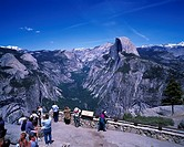 Half Dome, Glacier Point, Yosemite National Park, California, United States of America