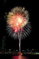 Fireworks,Hangang River,Seoul,Korea