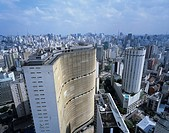 Sao Paulo street Bird´s_eye view Sao Paulo Brazil City View Building Building Blue sky