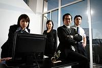Business Men and Business Women