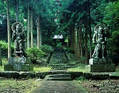 Two Deva, Futagoji Temple, Aki, Oita, Japan