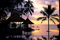 Swimming Pool In Resort,Indonesia