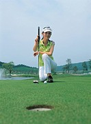 A Female Golfer,Goh Ha Rin