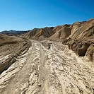 Dirt road through Death Valley National Park