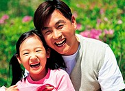 Father And Daughter,Korean