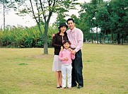 Parents and Their Daughter, Korean