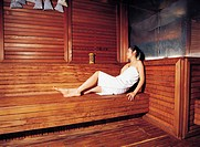 Woman in Sauna, Korean