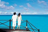 Couple at the Beach, Maldives