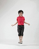 Boy Jumproping, Korea