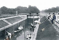 Egham, Bell Weir Lock 1907