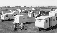 Anderby Creek, Rose's Caravan Camp c1955