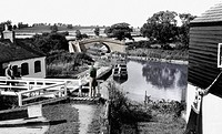 Foxton, the Grand Union Canal c1960