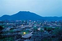 Nagan-Eupseong Folk Village,Jeonnam,Korea